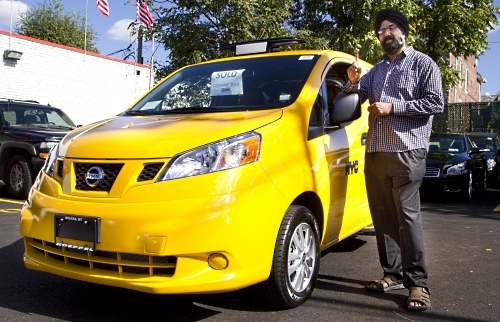 2014 Nissan Nv200 Taxi Takes To The Road In New York Nissan In The